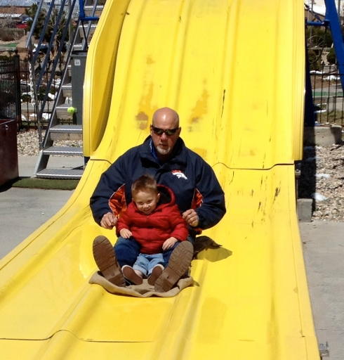 Papa Big Slide