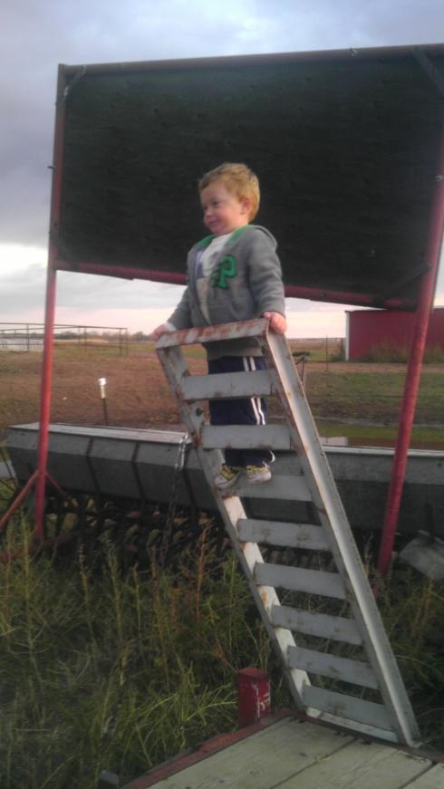 Lukas-climbing